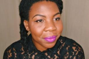 L'Oreal Lip Paint Matte Swatch 1